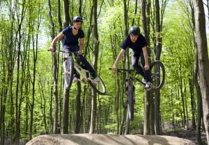 BMX springen in Wuppertal